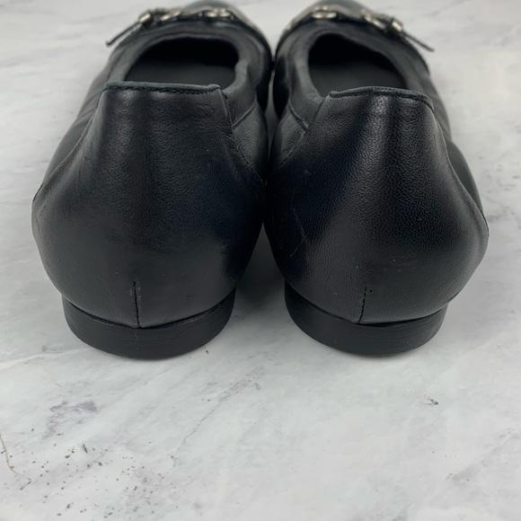 AGL • Cap Toe Ballet Flats Navy Chain 39   Ballet flats